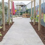 Bright Sparks childcare Mangere walkway